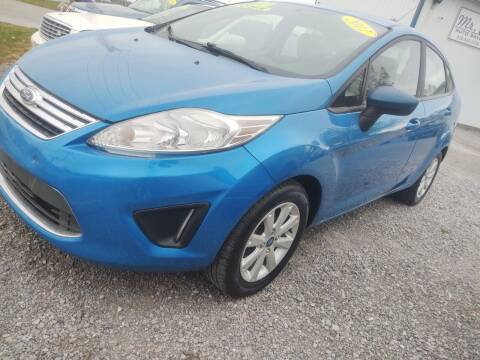 2012 Ford Fiesta for sale at Mr E's Auto Sales in Lima OH