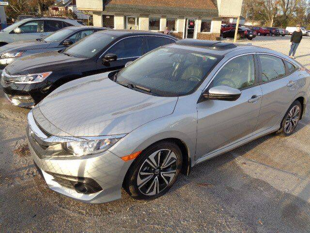 2018 Honda Civic for sale at THE TRAIN AUTO SALES & LEASING in Mauldin SC