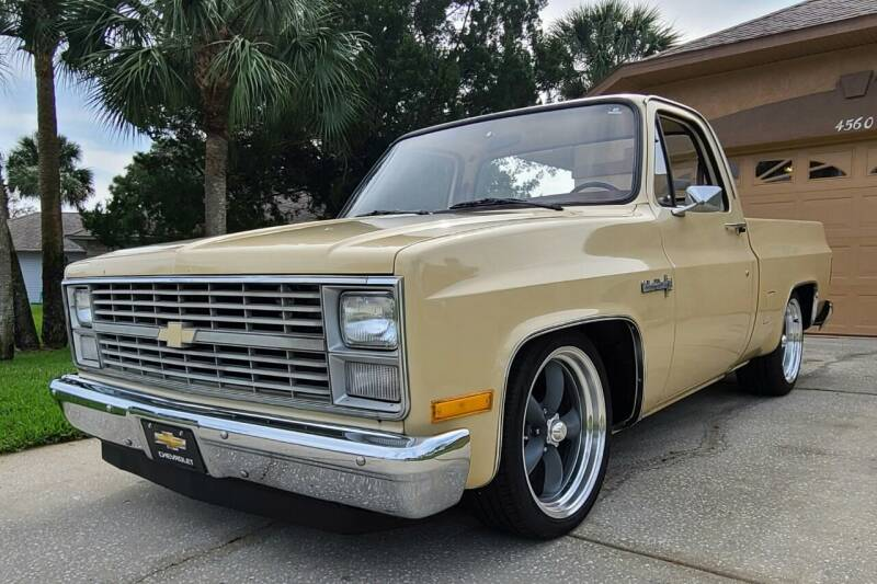 1984 Chevrolet C/K 10 Series for sale at MILFORD AUTO SALES INC in Hopedale MA