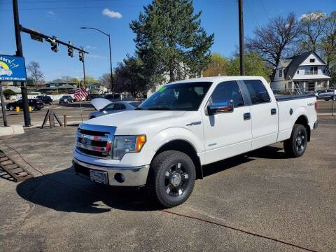 2013 Ford F-150 for sale at J Sky Motors in Nampa ID