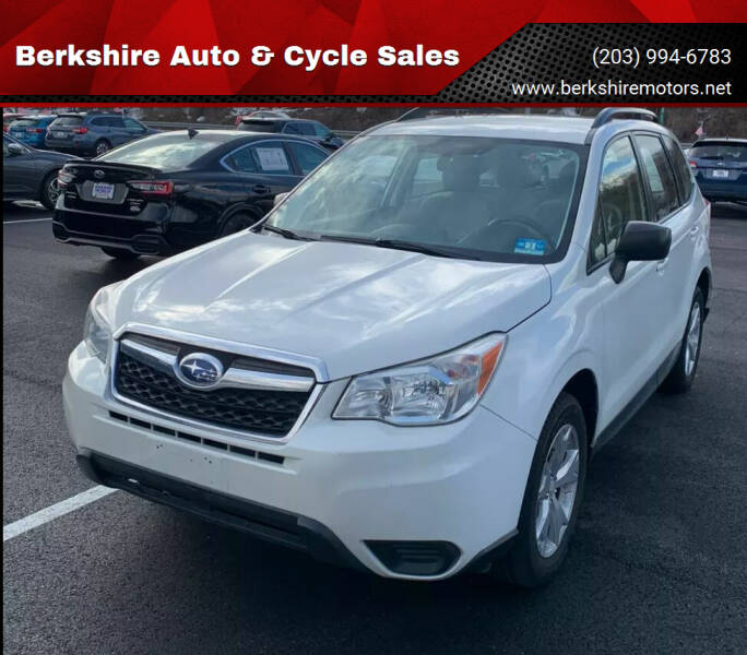 2015 Subaru Forester for sale at Berkshire Auto & Cycle Sales in Sandy Hook CT