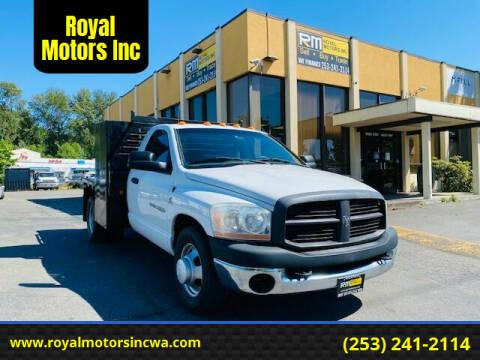 2006 Dodge Ram Pickup 3500 for sale at Royal Motors Inc in Kent WA
