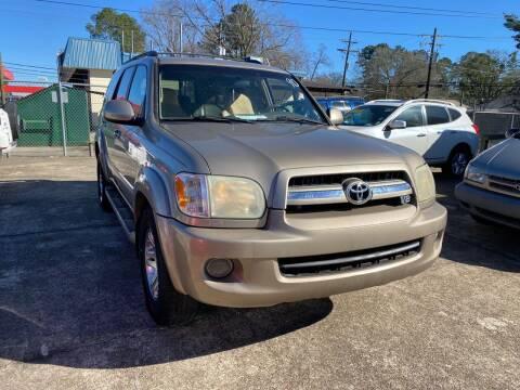 2006 Toyota Sequoia for sale at Port City Auto Sales in Baton Rouge LA