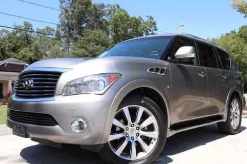 2013 Infiniti QX56 for sale at Cobb Luxury Cars in Marietta GA