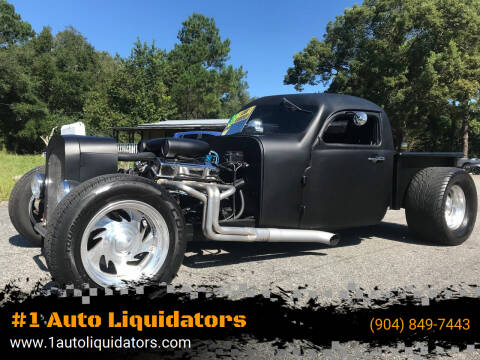 1938 Ford RAT ROD for sale at #1 Auto Liquidators in Yulee FL
