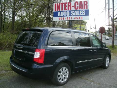 2013 Chrysler Town and Country for sale at Inter Car Inc in Hillside NJ