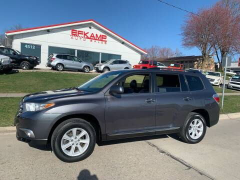 2012 Toyota Highlander for sale at Efkamp Auto Sales LLC in Des Moines IA