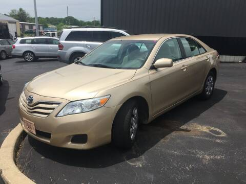 2010 Toyota Camry for sale at Hoss Sage City Motors, Inc in Monticello IL