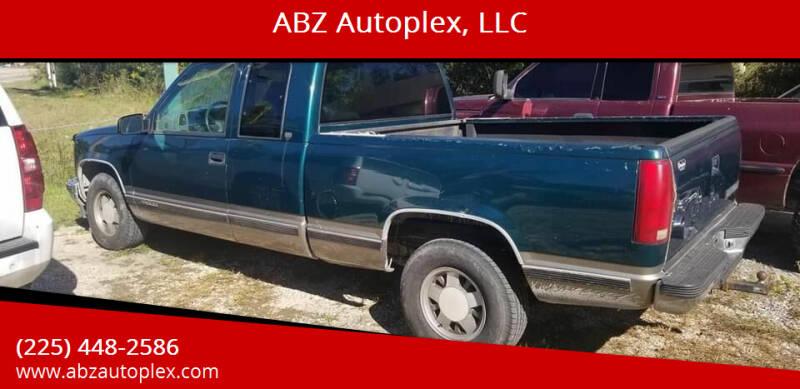 1998 Chevrolet C/K 1500 Series for sale at ABZ Autoplex, LLC in Baton Rouge LA