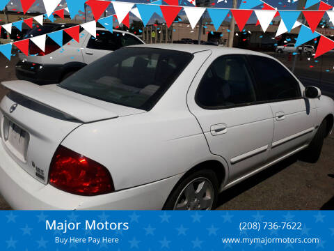 2005 Nissan Sentra for sale at Major Motors in Twin Falls ID