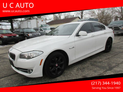 2013 BMW 5 Series for sale at U C AUTO in Urbana IL