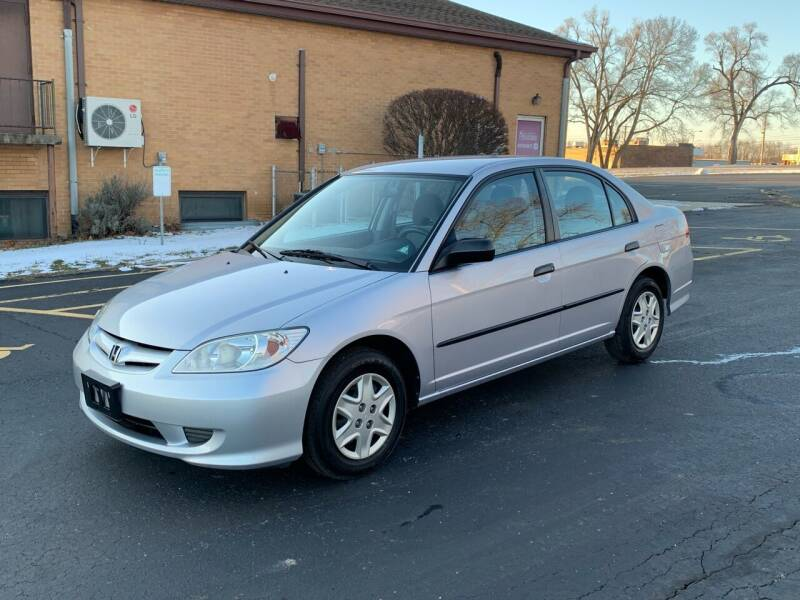 2005 Honda Civic for sale at Dittmar Auto Dealer LLC in Dayton OH