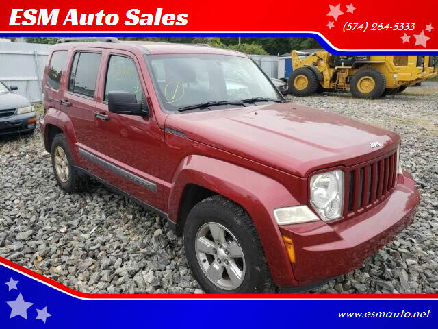 2011 Jeep Liberty for sale at ESM Auto Sales in Elkhart IN
