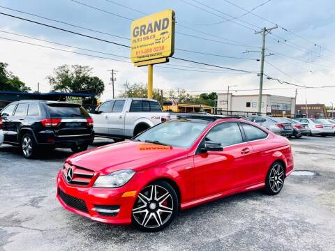 2013 Mercedes-Benz C-Class for sale at Grand Auto Sales in Tampa FL