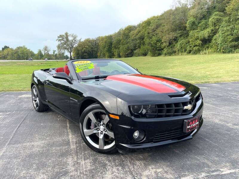 2012 Chevrolet Camaro for sale at A & S Auto and Truck Sales in Platte City MO