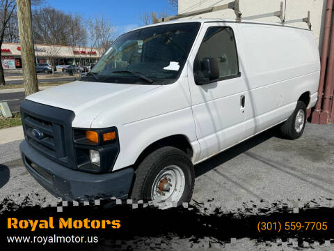 2013 Ford E-Series Cargo for sale at Royal Motors in Hyattsville MD