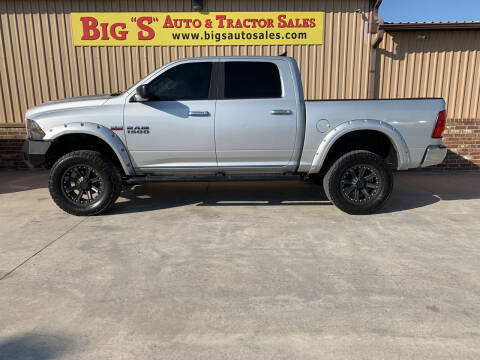 2015 RAM Ram Pickup 1500 for sale at BIG 'S' AUTO & TRACTOR SALES in Blanchard OK