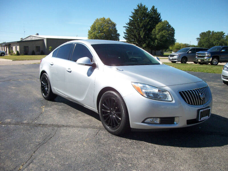 2012 Buick Regal for sale at USED CAR FACTORY in Janesville WI