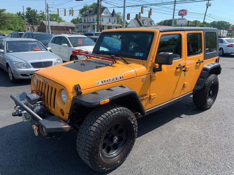 2012 Jeep Wrangler Unlimited for sale at Masic Motors, Inc. in Harrisburg PA