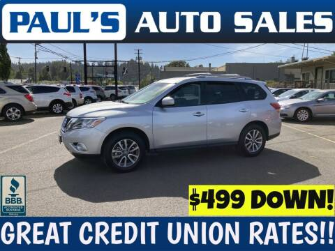 2014 Nissan Pathfinder for sale at Paul's Auto Sales in Eugene OR