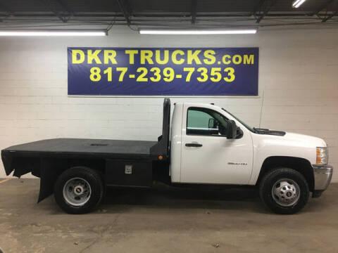 2013 Chevrolet Silverado 3500HD CC for sale at DKR Trucks in Arlington TX