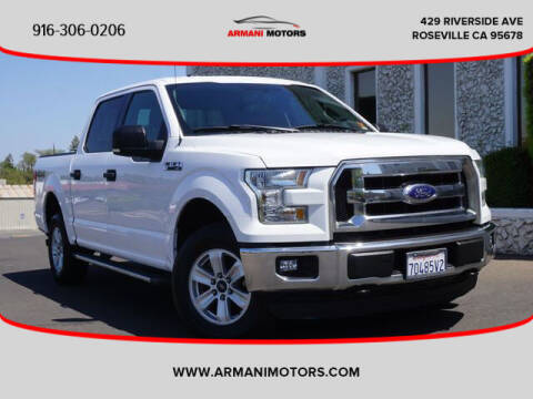 2015 Ford F-150 for sale at Armani Motors in Roseville CA