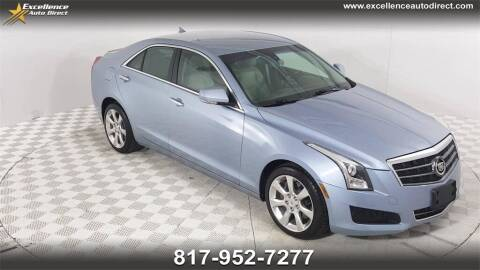 2013 Cadillac ATS for sale at Excellence Auto Direct in Euless TX