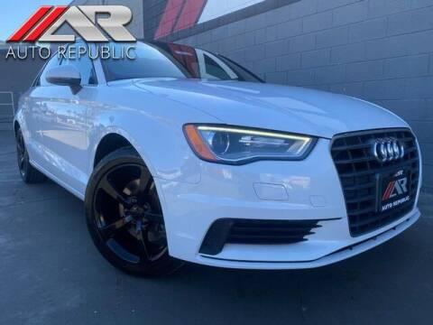 2015 Audi A3 for sale at Auto Republic Fullerton in Fullerton CA