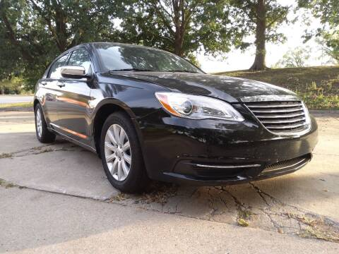2012 Chrysler 200 for sale at Crispin Auto Sales in Urbana IL