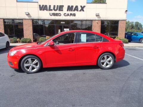2014 Chevrolet Cruze for sale at ValueMax Used Cars in Greenville NC