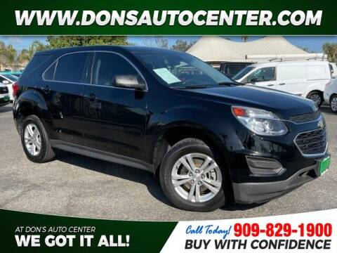 2017 Chevrolet Equinox for sale at Dons Auto Center in Fontana CA