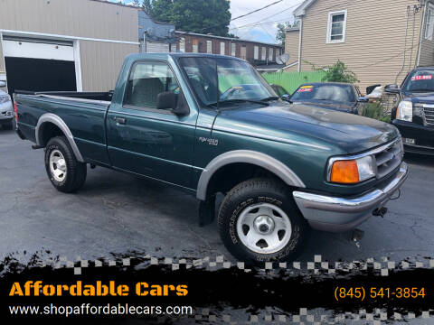 1995 Ford Ranger for sale at Affordable Cars in Kingston NY