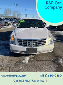 2006 Cadillac DTS for sale at R&R Car Company in Mount Clemens MI
