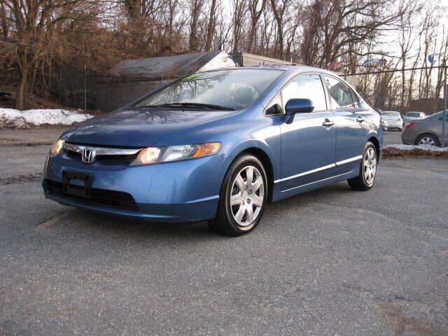 2007 Honda Civic for sale at Jareks Auto Sales in Lowell MA