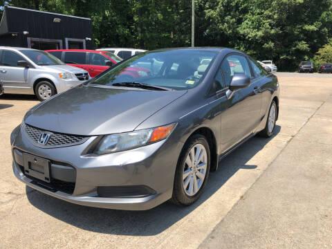 2012 Honda Civic for sale at Oceana Motors in Virginia Beach VA
