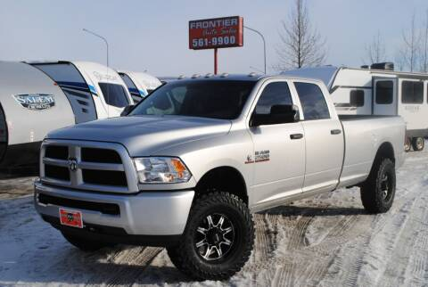 2013 RAM Ram Pickup 2500 for sale at Frontier Auto & RV Sales in Anchorage AK