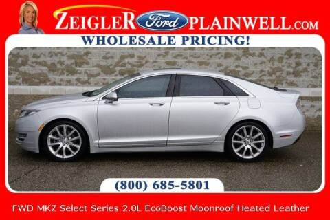 2014 Lincoln MKZ for sale at Zeigler Ford of Plainwell- Jeff Bishop in Plainwell MI