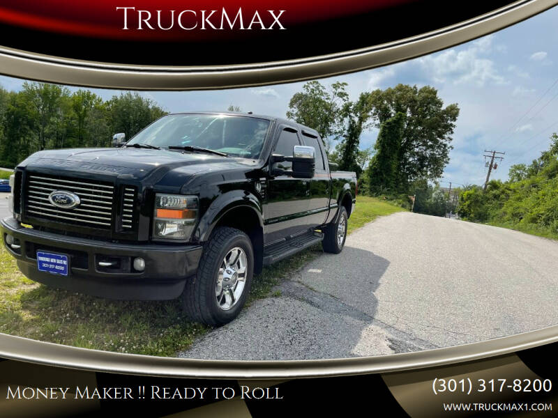 2008 Ford F-350 Super Duty for sale at TruckMax in Laurel MD