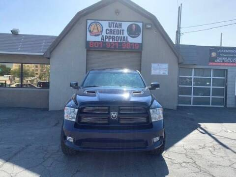 2012 RAM Ram Pickup 1500 for sale at Utah Credit Approval Auto Sales in Murray UT