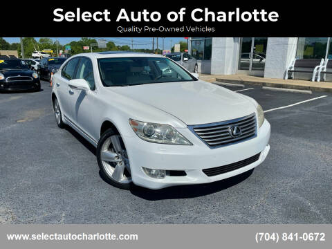 2012 Lexus LS 460 for sale at Select Auto of Charlotte in Matthews NC