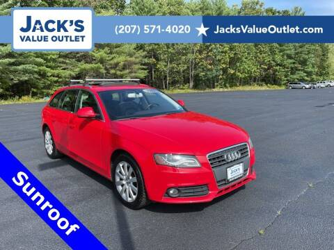 2009 Audi A4 for sale at Jack's Value Outlet in Saco ME