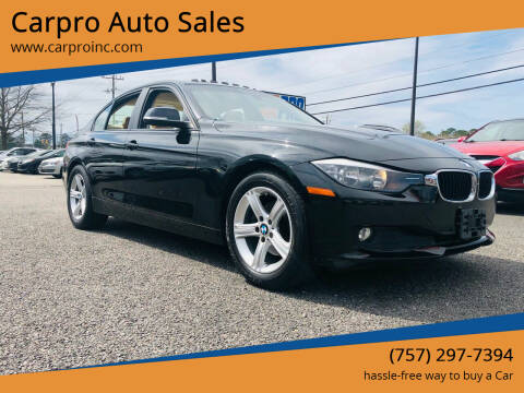 2014 BMW 3 Series for sale at Carpro Auto Sales in Chesapeake VA