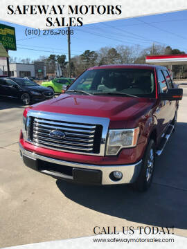 2013 Ford F-150 for sale at Safeway Motors Sales in Laurinburg NC