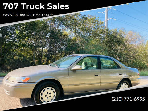 1999 Toyota Camry for sale at 707 Truck Sales in San Antonio TX
