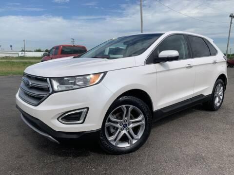 2017 Ford Edge for sale at Superior Auto Mall of Chenoa in Chenoa IL