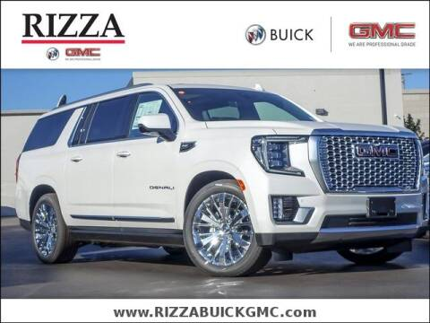 2021 GMC Yukon XL for sale at Rizza Buick GMC Cadillac in Tinley Park IL