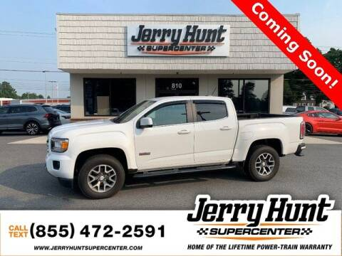 2017 GMC Canyon for sale at Jerry Hunt Supercenter in Lexington NC