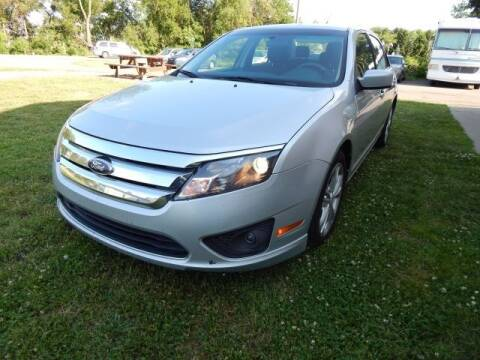 2012 Ford Fusion for sale at PARAGON AUTO SALES in Portage MI