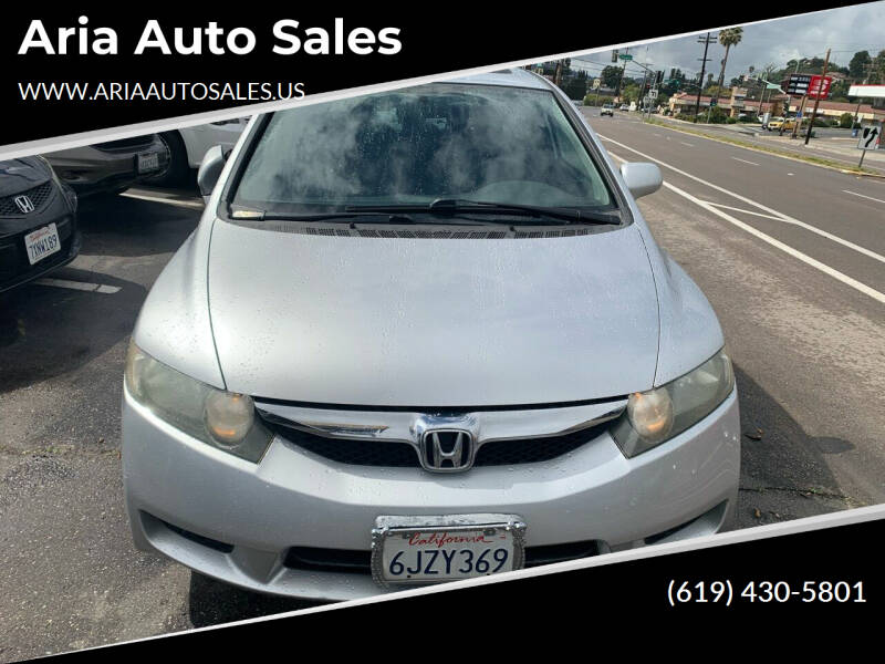 2009 Honda Civic for sale at Aria Auto Sales in El Cajon CA