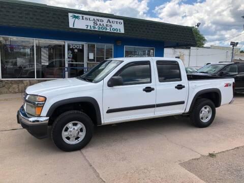 2008 Chevrolet Colorado for sale at Island Auto Sales in Colorado Springs CO